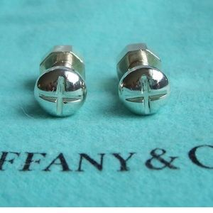Tiffany & Co. Sterling Nuts & Bolts Cuff Links